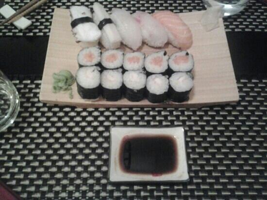 Minohana: sushi misto in formula serale