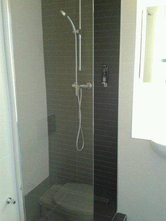 Hotel Saint Nicolas: Power shower