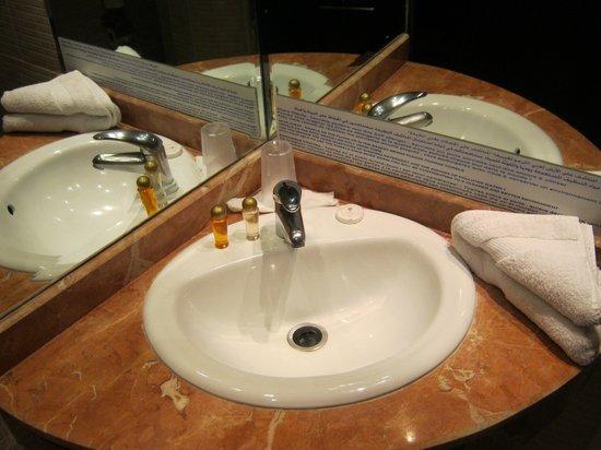Hotel Almas: Sink