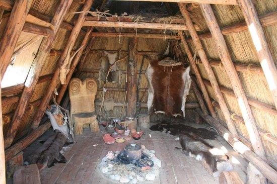 Museo delle Palafitte del Lago di Ledro: interno ricostruzione