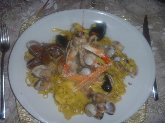 Osteria della Selva Oscura: spaghetti a la mare...