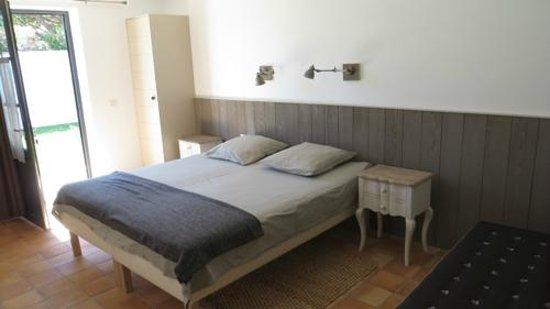 Maison d'Hôtes Près des Dunes : Chambre COTE à COTE