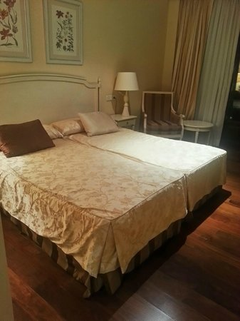 Hotel Palacio Villa de Alarcon & Spa: Nuestra habitación, perfecta.
