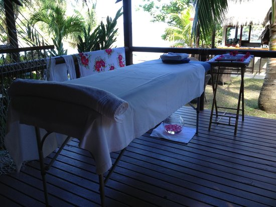 Seabreeze Resort: ready for a massage!