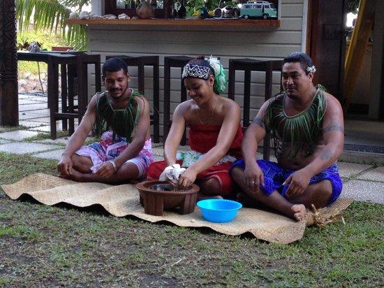 Seabreeze Resort: Samoan cultural talk