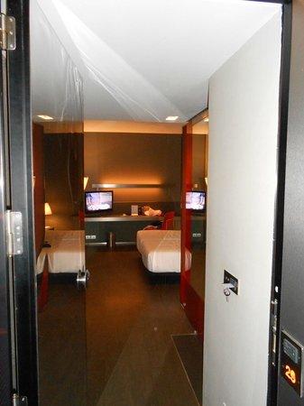 Soho Hotel: Entrée chambre