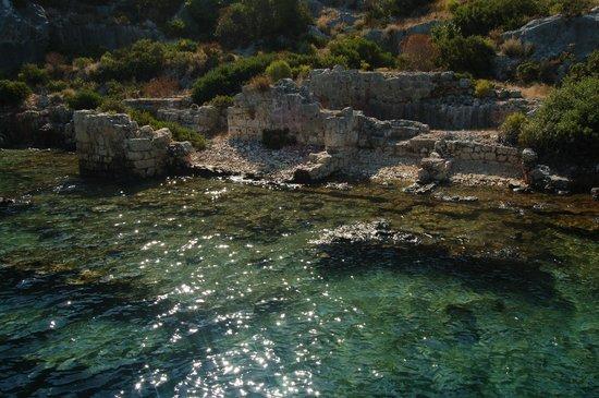Villa Bianka: Le rovine sommerse della baia di Kekova