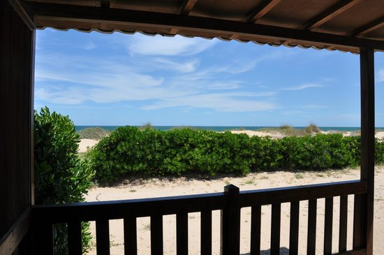 Camping Pepe : Bungalow a primera linea de playa