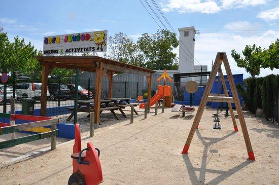 Camping Pepe: Área Junior y de actividades infantiles