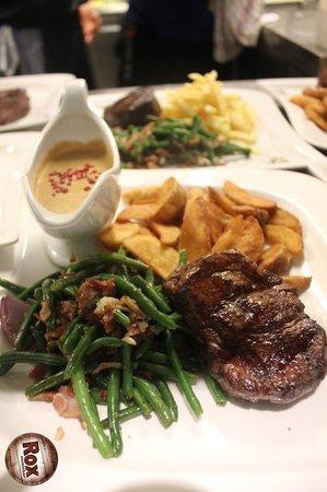 Rox Bar & Grill: US Steak IPB mit Pfeffersauce