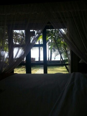 Nugraha Lovina Seaview Resort: view from our room