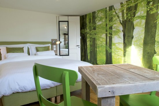 BB by Servio: The Standard Double Room with Forest theme.