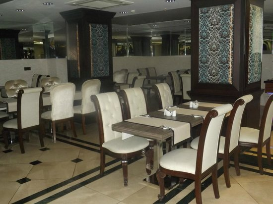 Maywood Hotel: Sala per la colazione sempre pulita e in ordine