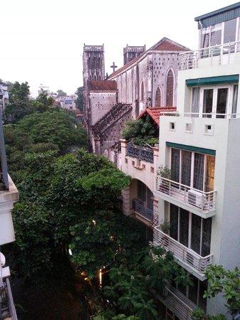 Hanoi Impressive Hotel: vista dalla camera