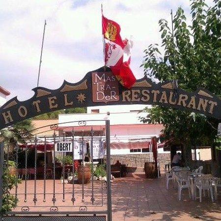 Hotel Mas Trader: Entrada al recinto del Hotel