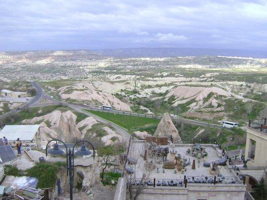 Cappadocia Cave Resort & Spa: Θέα απο το Restaurant