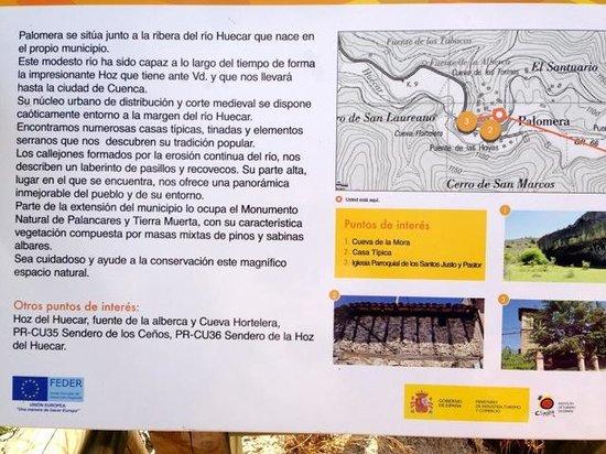 Casa Rural Senores de Cuba: Palomera in detail