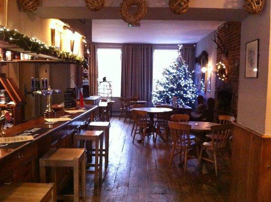 The Ship Inn at Christmas