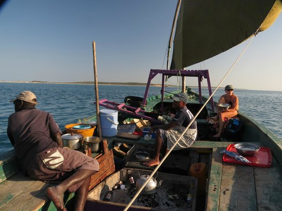Sailaway Dhow Safaris: On the Dhow
