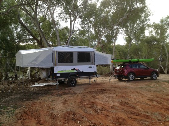 Murchison House Station: Campsite