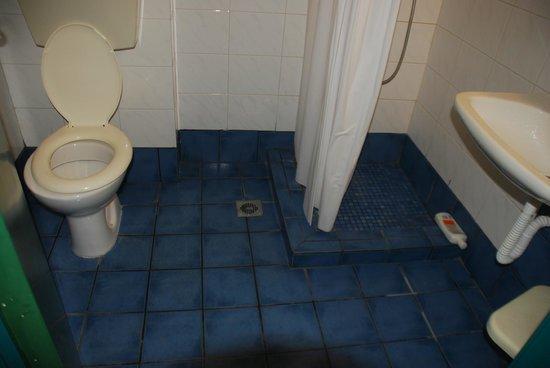 Hotel Ilios: Шторка, с которой все стекает на пол