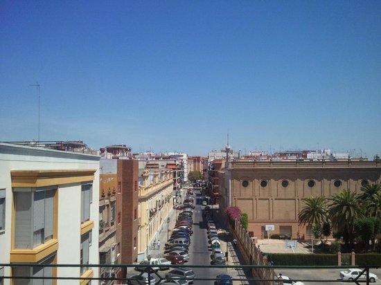Pension dona Pepa: Vistas de Sevilla desde la terraza