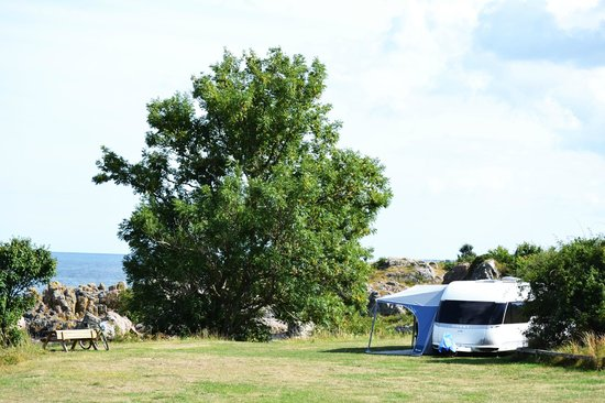 Gudhjem Camping : The view from campsite