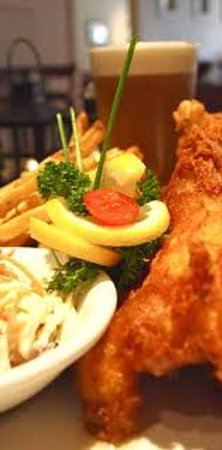 Tiel Restaurant & bar: Great fresh fish n' chips