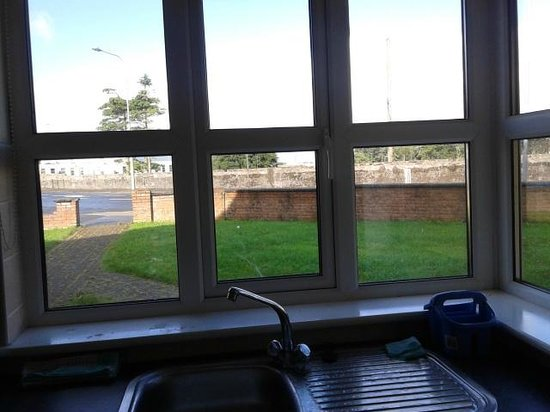 Yeats Village: vista dalla finestra della cucina