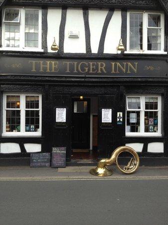 The Tiger Inn Beverley: Tiger Inn during the Folk Festival