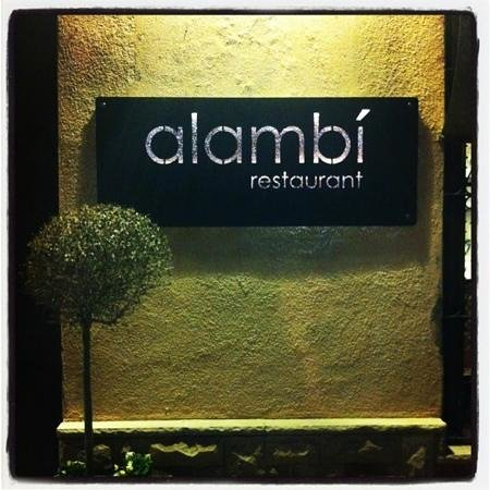 La Garriga, Ισπανία: alambí restaurant