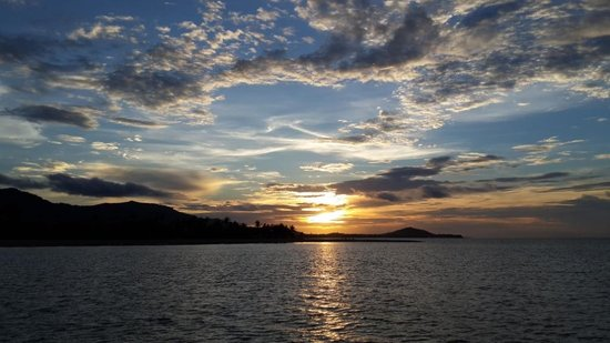 Boat Charter Samui: Sunset from the boat