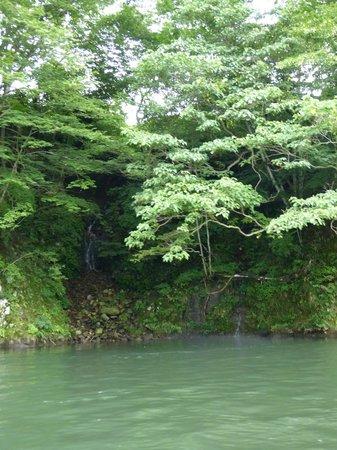 Kinugawa River Boat: river