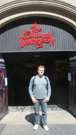 The Edinburgh Dungeon : Entrando no The Edinburgh Dangeon