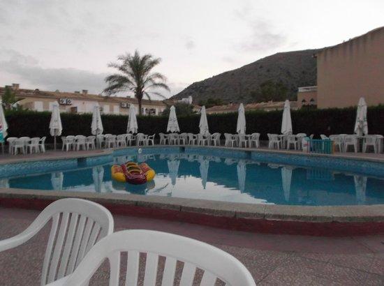 Jolly Roger: clean, lovely poolside