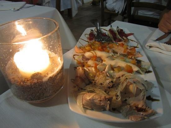 I 4 antipasti freddi dell antipasto misto di pesce for Antipasti freddi