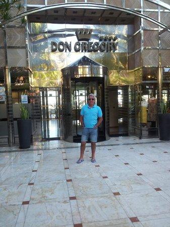 Dunas Don Gregory: Entrada del Hotel