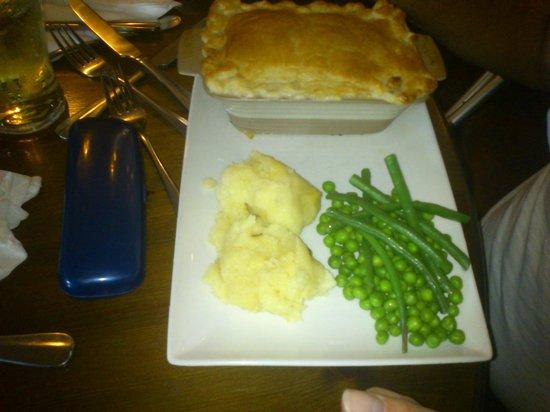 The Drum Inn: pie