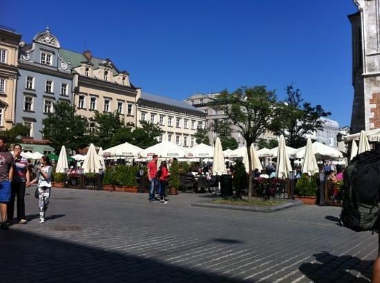 Orlowska Townhouse: krakow square