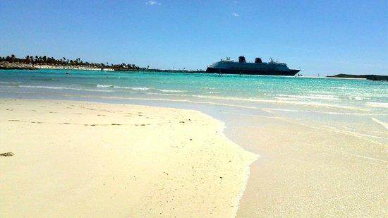 Castaway Cay: great beaches