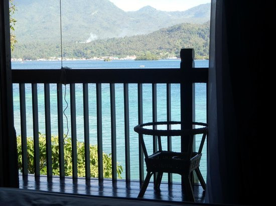Bastianos Lembeh Dive Resort : risveglio