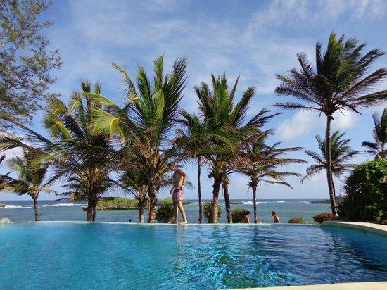 Aquarius Club : piscina sul mare