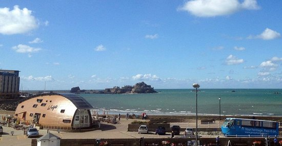 Grand Jersey Hotel & Spa : The view from The Grand Jersey
