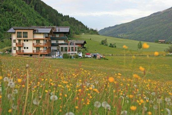 Landhaus Rohregger: Die beiden Häuser mit dem neueren Rohregger Balance vorne!