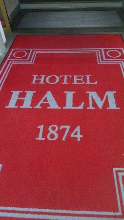 Hotel Halm Konstanz: Hotel carpet