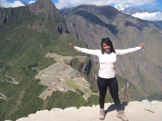Green Peru Adventures : From Huaynapicchu top, Machu Picchu