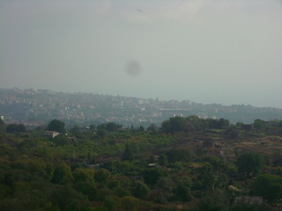 Villa Etelka Bed and Breakfast: panorama visto dalla camera