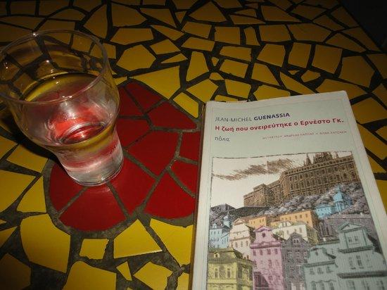 Amorgialos: relaxing in Amorialos.