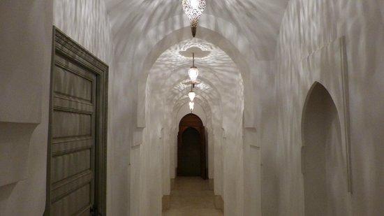 Riad Snan13: Entrance hallway