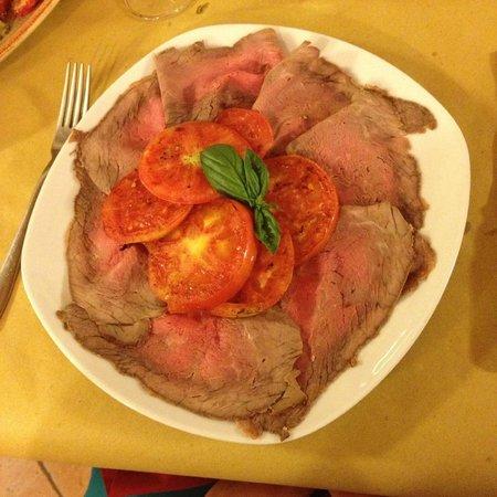 Ristorante dell'Agriturismo Il Podere : Roast Beef